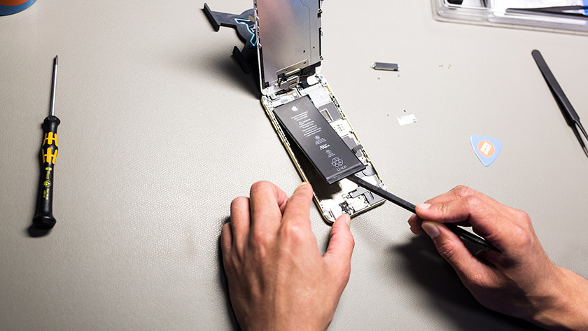 Coolblue battery repair