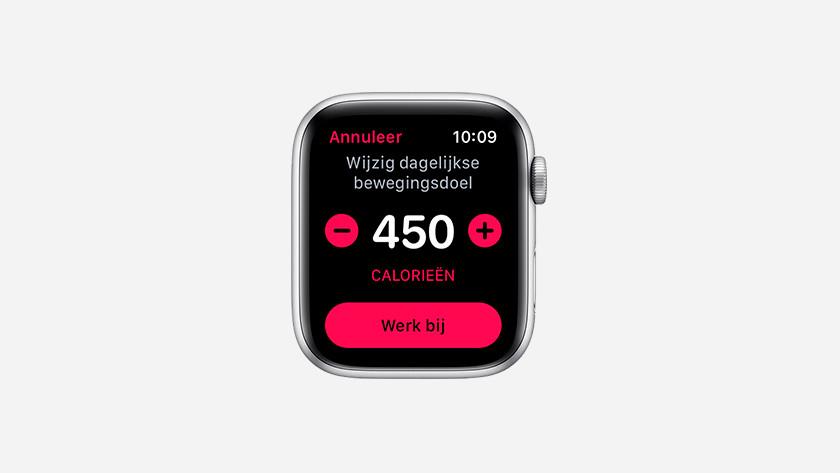 Move goals Apple Watch