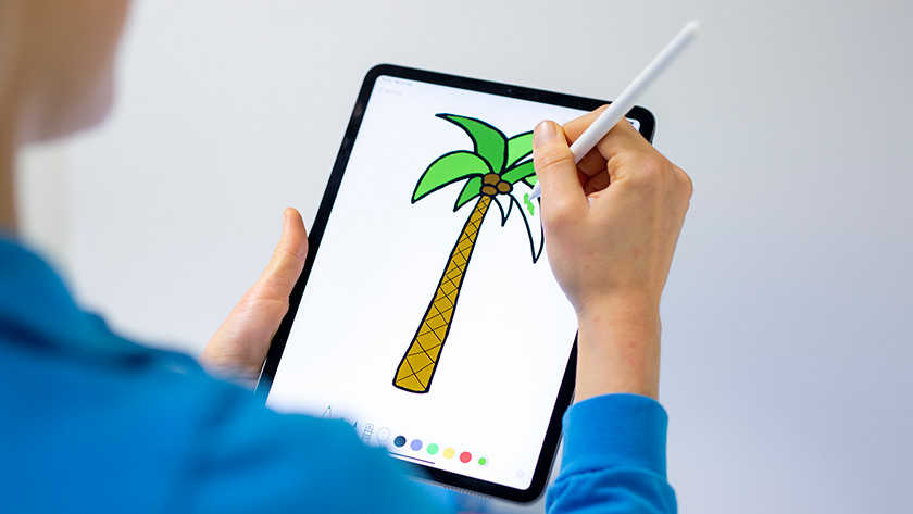 Tekenen met Apple Pencil (2e generatie)