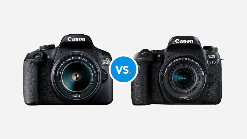Canon SLR cameras