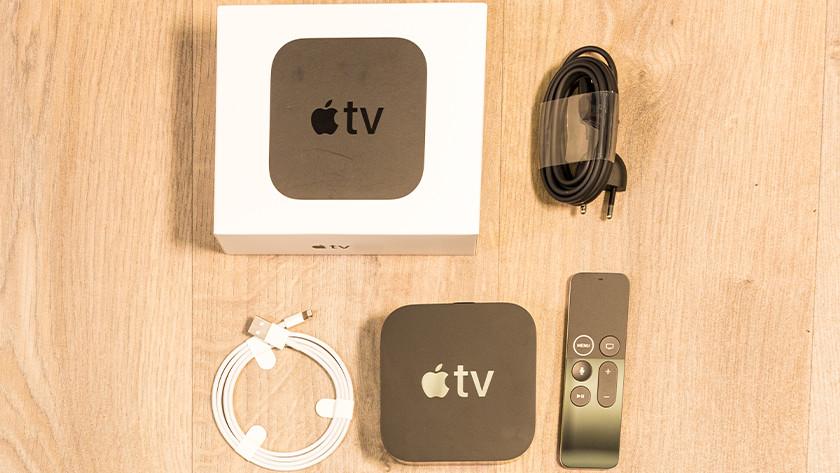 Serienummer op verpakking Apple TV