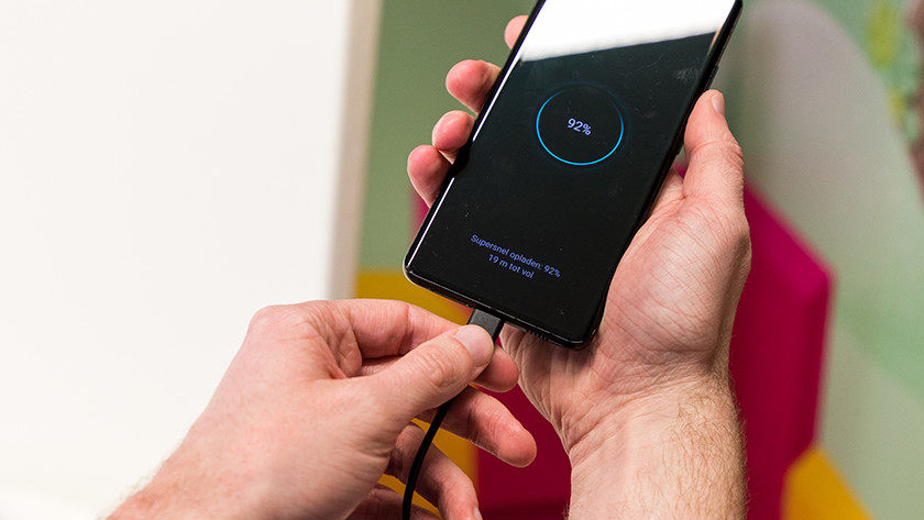 Review Samsung S21 Ultra batterij