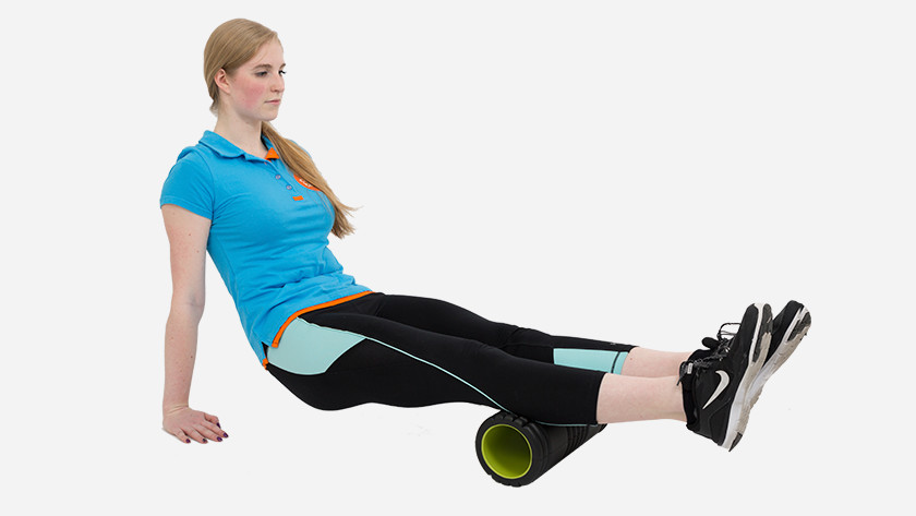calf muscle foam roller