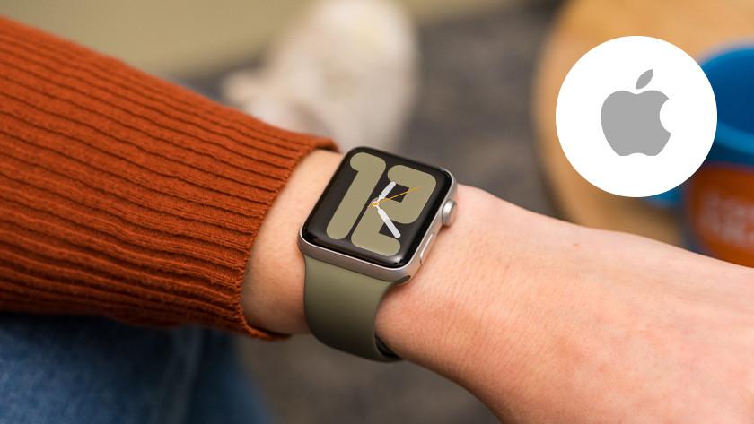 Apple Watch om pols