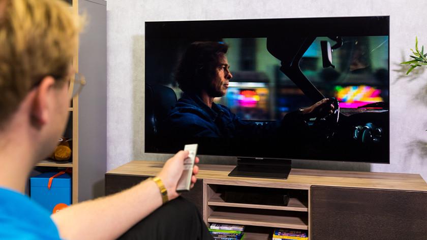 Contrast en zwartwaarden van de Samsung Q95T QLED tv