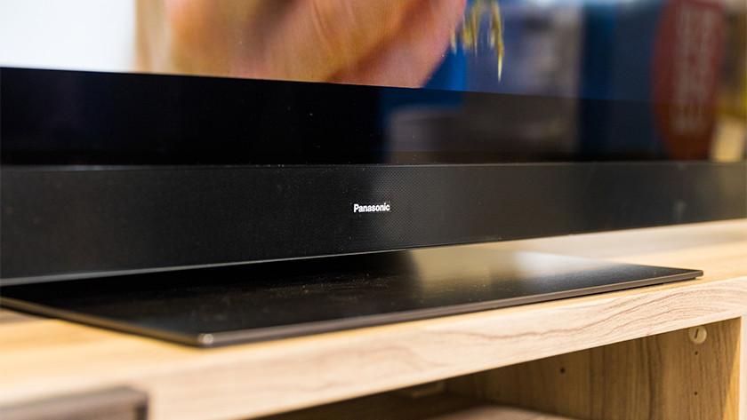 Ontwerp van de Panasonic HZW2004 OLED tv