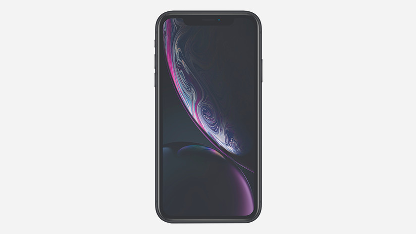 The iPhone Xr screen