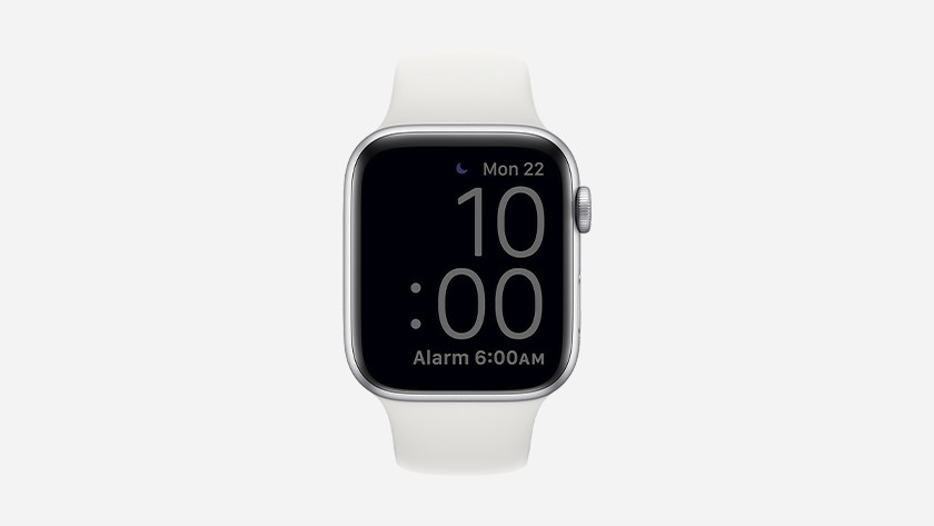 Your watch face dims when your Apple Watch is in sleep mode.