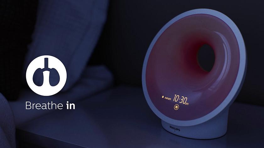 Ademhalingsoefeningen Philips Somneo HF3650