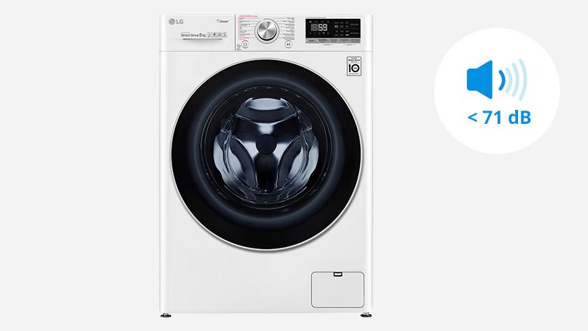 Extra stille wasmachine