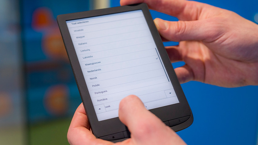 PocketBook select language