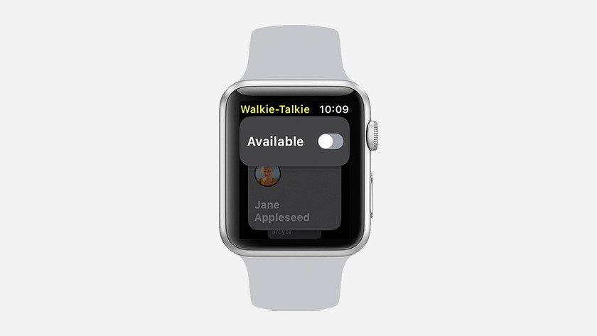 Turn Walkie-Talkie on and off