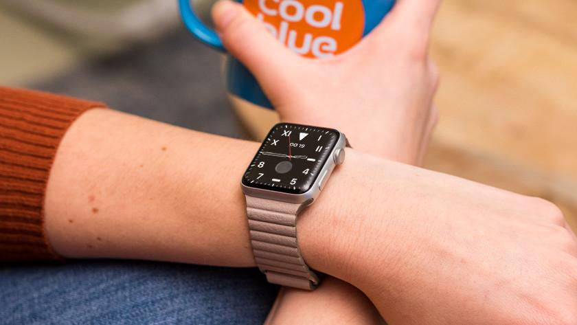 Apple Watch Leather Loop horlogeband