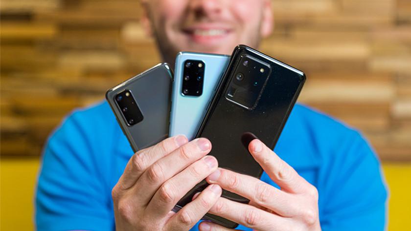 Mobiele telefoon kiezen