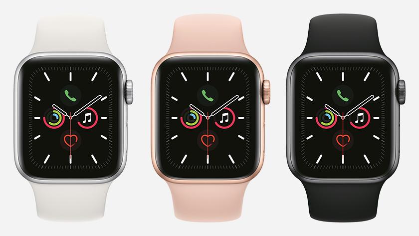 Apple Watch Series 5 kleuren