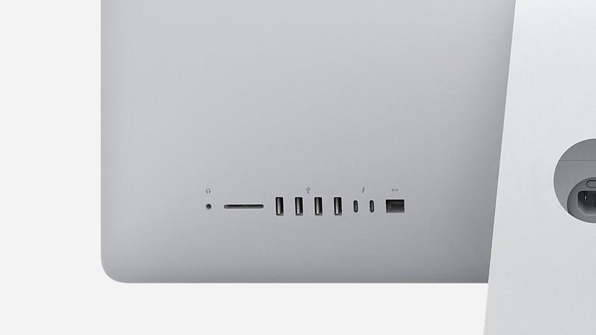 iMac aansluitingen