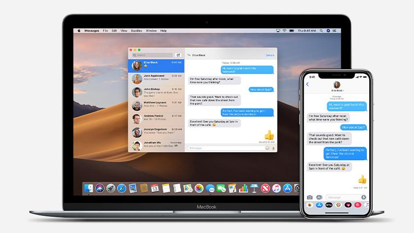 iMessage gebruiken op Apple Macbook