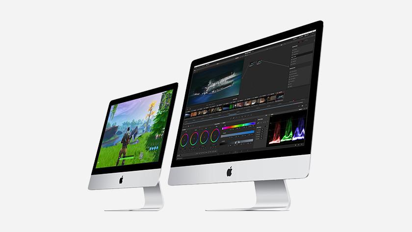 21.5 inch iMac en 27 inch iMac