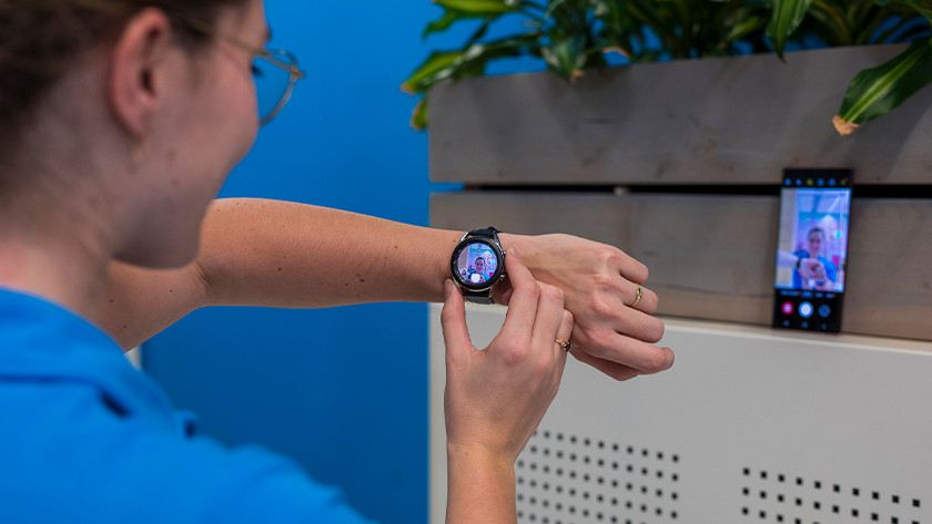Camera bedienen met Samsung Galaxy Watch3