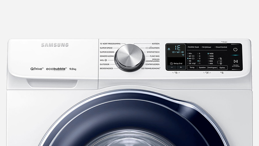The top 6 errors of Samsung washing machines - Coolblue