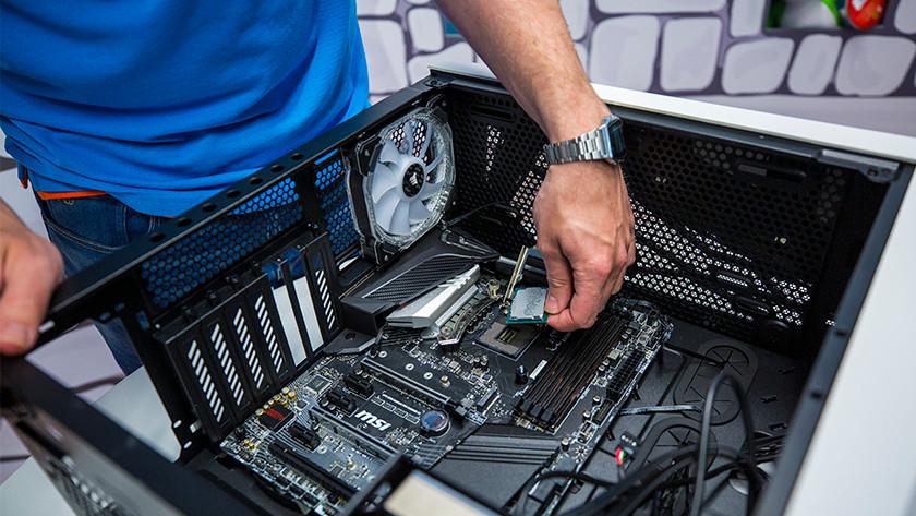 Replacing motherboard preparation