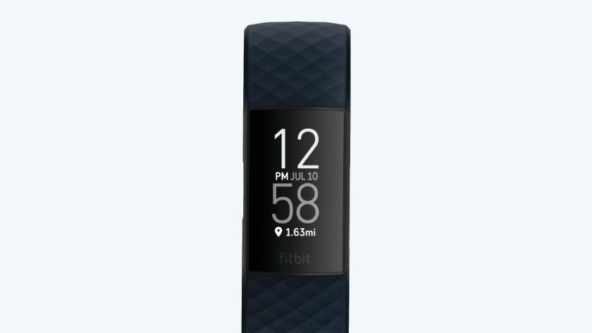 Fitbit Charge 4 zwart-wit scherm
