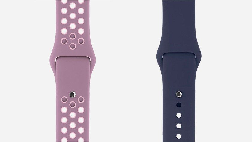 Apple Watch siliconen bandje