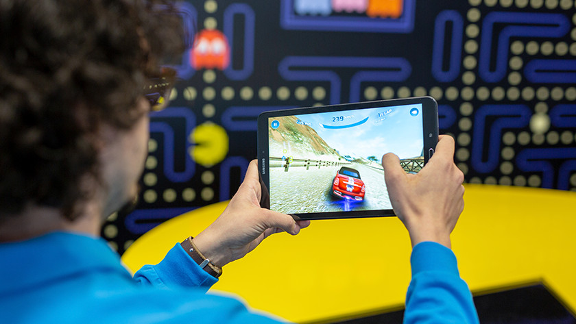 3D game tablet