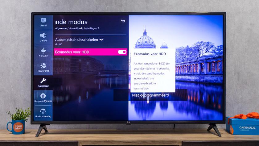 LG Ecomodus voor HDD