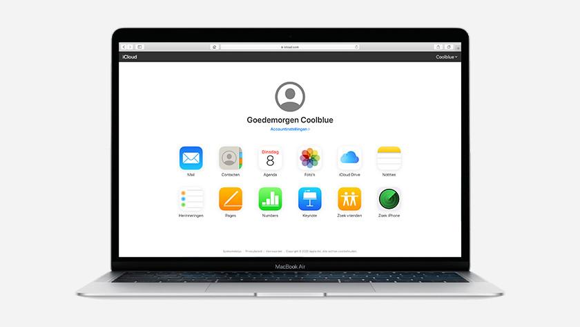 MacBook iCloud
