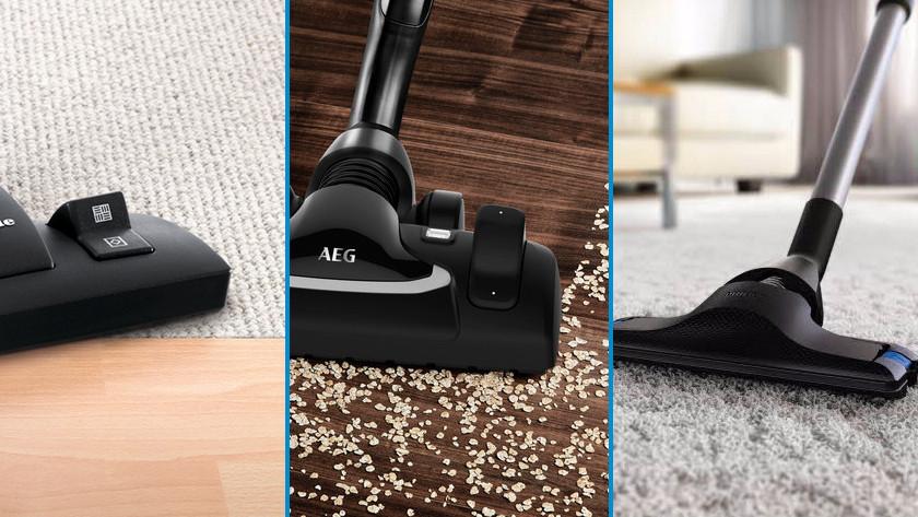 Jouw type vloer stofzuigen