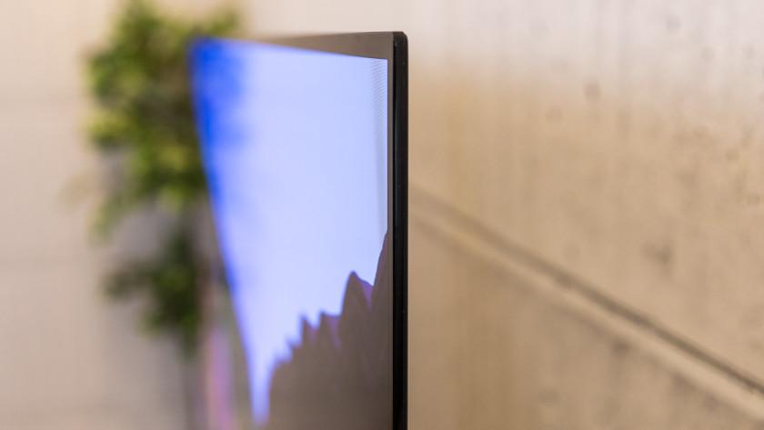 Ontwerp van de Sony OLED tv A90J