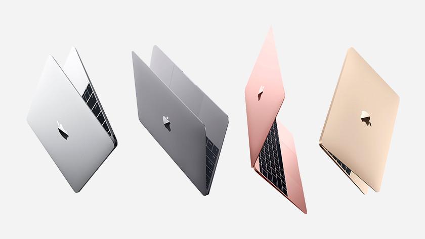 Verschillende kleuren van de Apple MacBook 12 inch