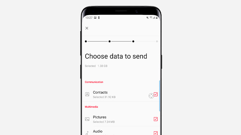 Transfer OnePlus data