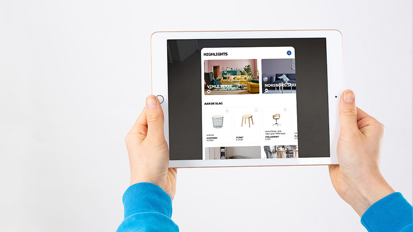 Apple iPad (2018) ikea app
