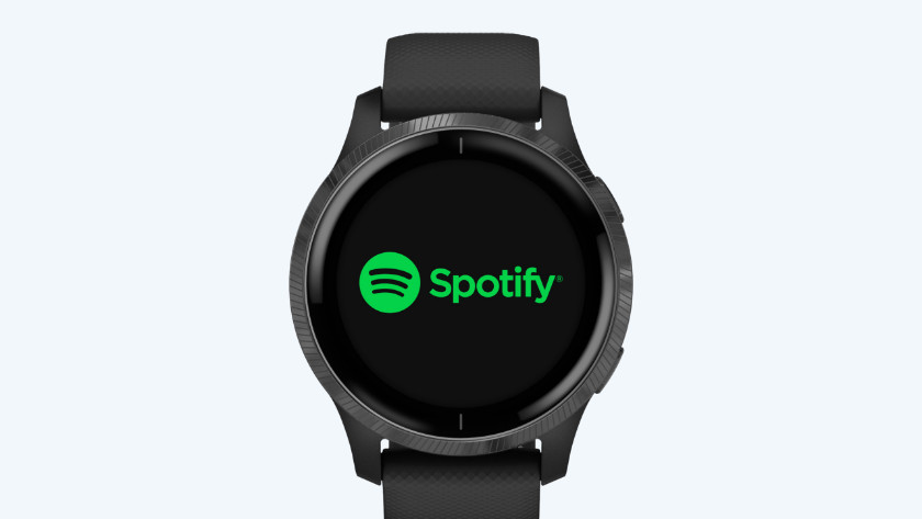 Garmin Venu Spotify gebruiken