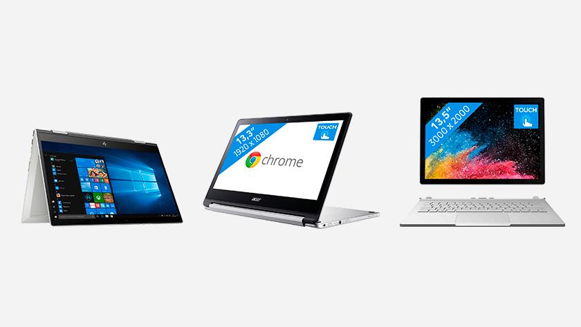 2 in 1 laptop meenemen