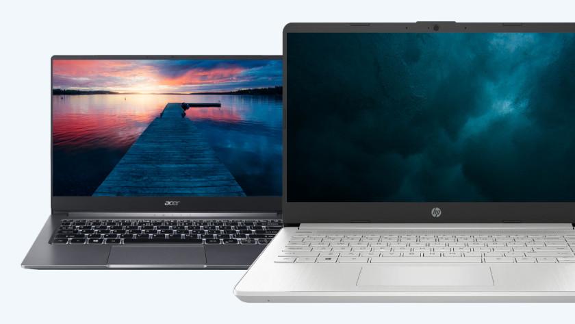 Acer en HP laptop