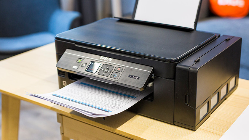 Epson ecotank et-2650 print documenten