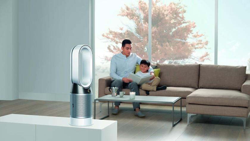 Dyson hava temizleyici oturma odası