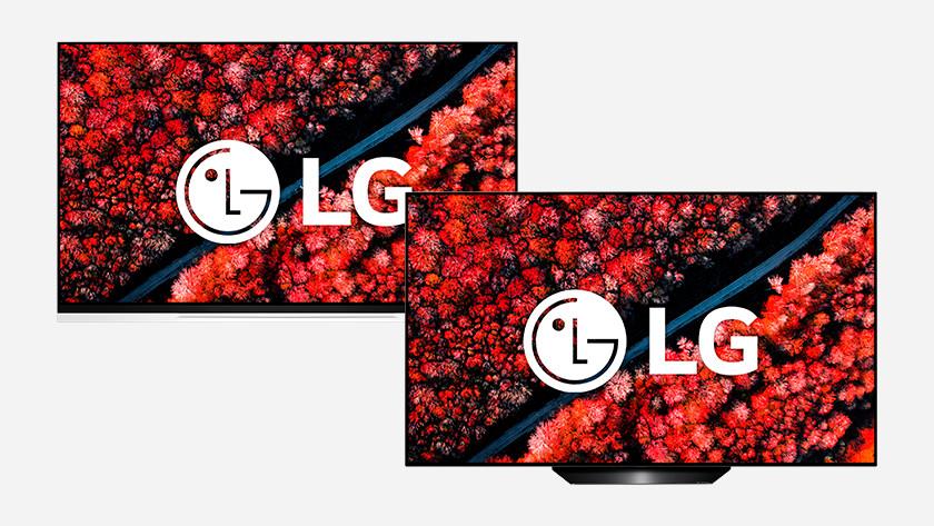 Beste LG OLED tv's