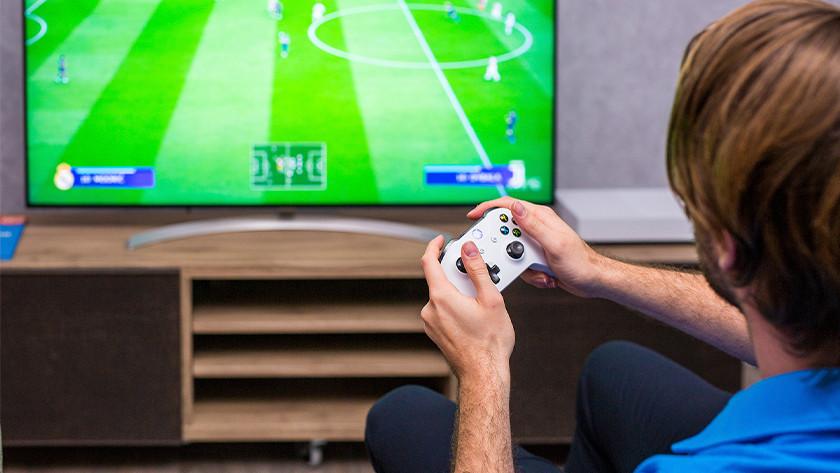 FIFA on Xbox.