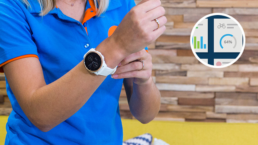 Update software of the smartwatch
