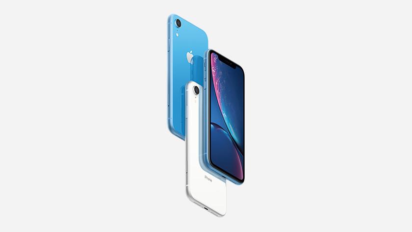 Apple iPhone Xr blauw