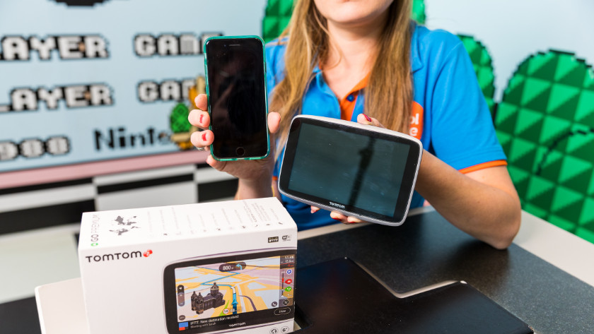 TomTom autonavigatie en smartphone