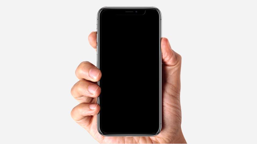 iPhone schermafbeelding