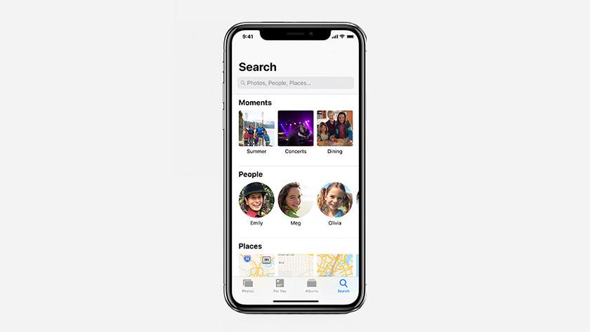 iOS 12 look for photos