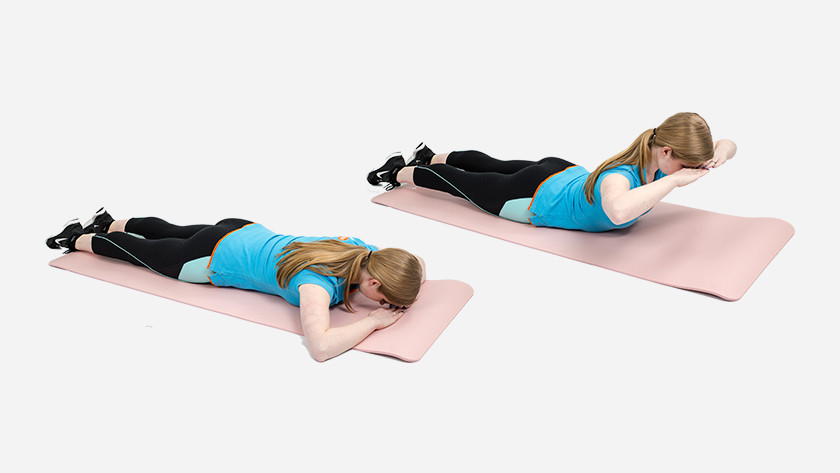 explanation back extension fitness mat