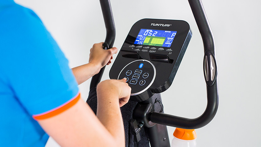 Endurance training exercise bike