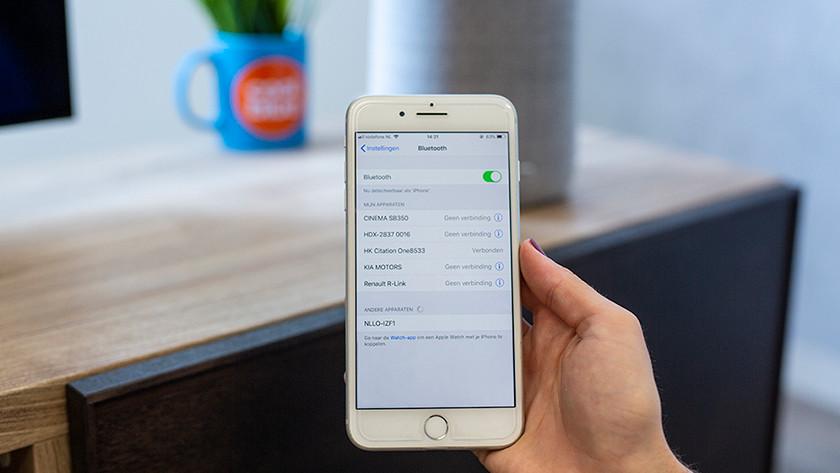 Bluetooth scherm
